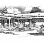 Rendering - The Hacienda at The River, Tucson