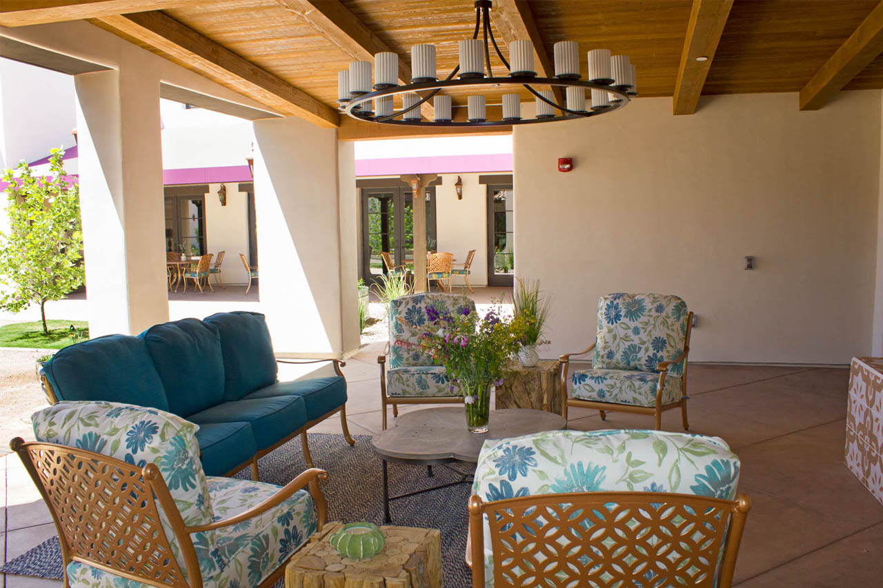 Patio at The Springs