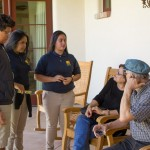 Imago Dei scholars visit with residents