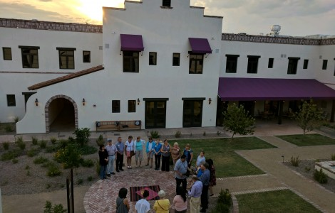 Blessing The Hacienda at the River
