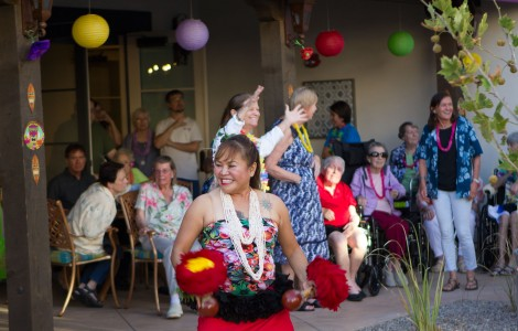 A Late Summer Luau – Feasting, Dancing and a Gift Box