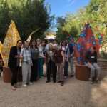 """""""Whether we find ourselves inspired by the sculptures or the nature that surrounds them, we have the opportunity to discover a bit more about ourselves and our relationships to nature.""""  Kevin & Jennifer Box (Designers of Origami Exhibit)"""