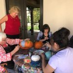 Community Pumpkin Carving organized by SAACA and Fox 11 News in our Springs Courtyard!