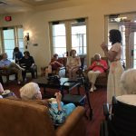 A wonderful way to keep out of the June heat is with an afternoon with tea biscuits and harp music!