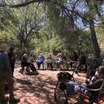 While many Watermark Communities are just experiencing their first frosts, cold spells and even snow...we get to be outside experiencing a lovely Mesquite Bosque (forest) and bird watching in the back yard of Pati from our CL Team!