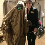 Who is this ghoulish monster??? One of our Mesquite residents who Brenda Ritter befriended at our Hacienda Halloween Bash!